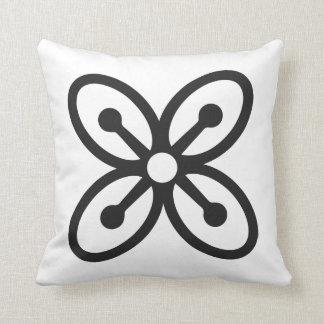 BESE SAKA | Symbol of Affluence, Power, Abundance Throw Pillow