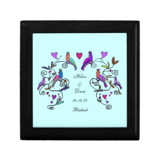 Beshert Decorative Chuppah Keepsake Box