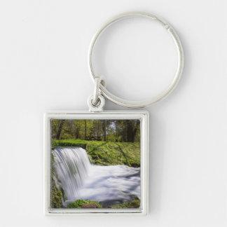Beside Hodgson Spring Falls Keychain