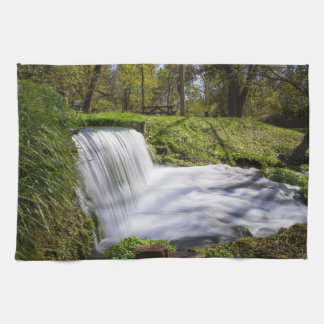 Beside Hodgson Spring Falls Kitchen Towel