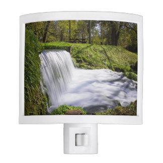 Beside Hodgson Spring Falls Nite Lights