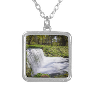Beside Hodgson Spring Falls Silver Plated Necklace