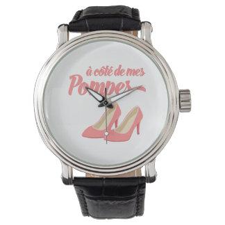 Beside My Shoes - A Cote de Mes Pompes French Wristwatch