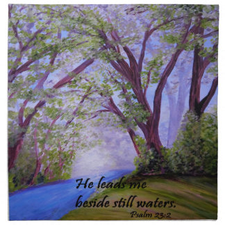 Beside Still Waters Napkin