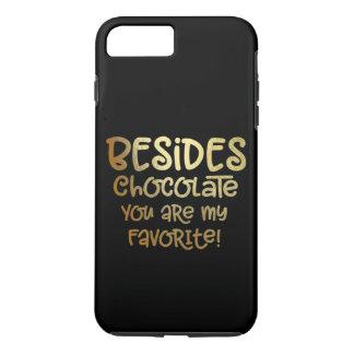 """Besides Chocolate"" iphone Case"