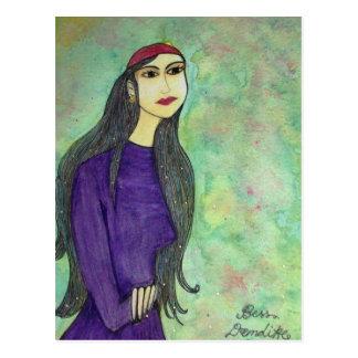 Bess Demdike Post Card