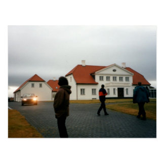 Bessastadir (Presidental Palace), Iceland Postcard
