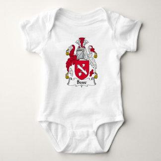 Besse Family Crest Baby Bodysuit
