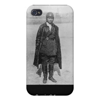 Bessie Coleman hard cover Cases For iPhone 4