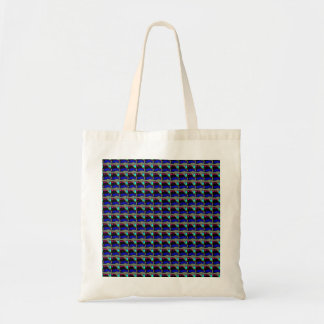 Bessie the landrover pattern tote bag