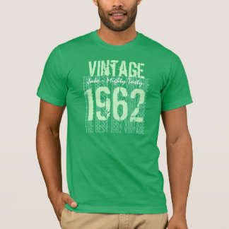 Best 1962 Vintage Tee Fifties Birthday Gift