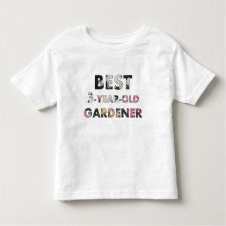 Best 3-Year-Old Gardener Toddler T-shirt