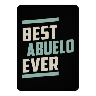 Best Abuelo Ever Card