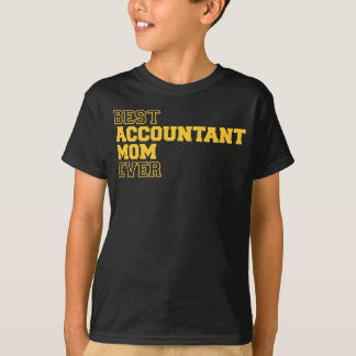 Best Accountant Mom Ever T-shirt
