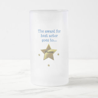 Best Actor: Thomas 16 Oz Frosted Glass Beer Mug