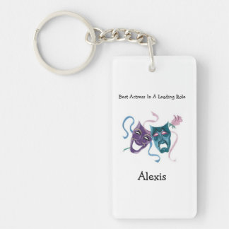 Best Actress/Lead Role: Alexis Single-Sided Rectangular Acrylic Keychain