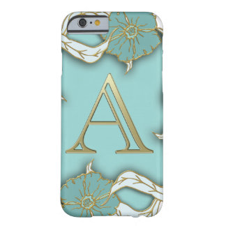 Best Alphabet Letter Initial Monogram Background Barely There iPhone 6 Case