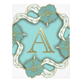 Best Alphabet Letter Initial Monogram Background Letterhead