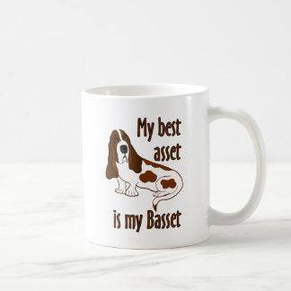 Best Asset Basset Hound Mugs