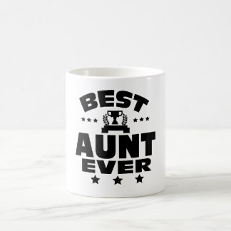 BEST AUNT EVER COFFEE MUG