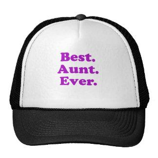 Best Aunt Ever Mesh Hats