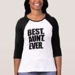 Best aunt ever t-shirts
