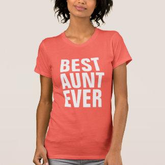 Best aunt ever tee shirt