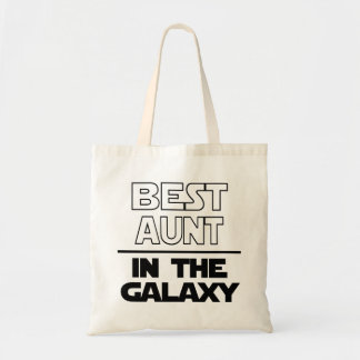 Best Aunt Galaxy Tote Bag