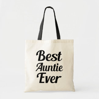 Best Auntie Ever funny bag