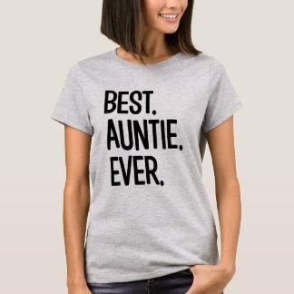 Best Auntie Ever funny women's aunt shirt