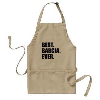 Best Babcia Ever Standard Apron