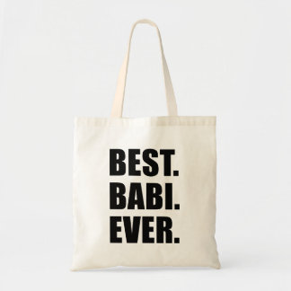 Best Babi Ever Czech Grandma Tote Bag