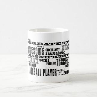 Best Baseball Players : Greatest Baseball Player Mug