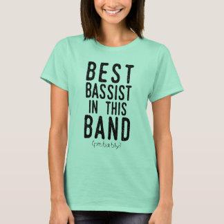 Best Bassist (probably) (blk) T-Shirt