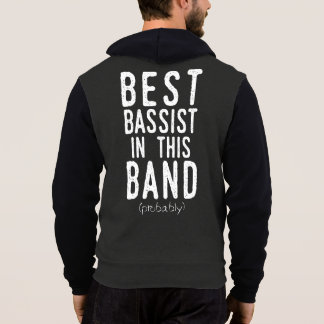 Best Bassist (probably) (wht) Hoodie