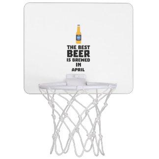 Best Beer is brewed in April Z86r8 Mini Basketball Hoop