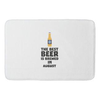 Best Beer is brewed in August Zw06j Bath Mat