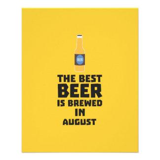 Best Beer is brewed in August Zw06j Flyer