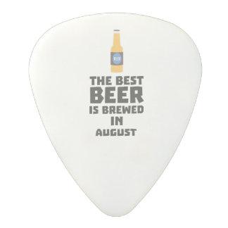 Best Beer is brewed in August Zw06j Polycarbonate Guitar Pick
