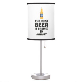 Best Beer is brewed in August Zw06j Table Lamp