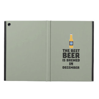 Best Beer is brewed in December Zfq4u Case For iPad Air