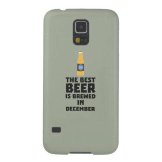Best Beer is brewed in December Zfq4u Galaxy S5 Cover