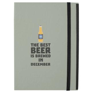 """Best Beer is brewed in December Zfq4u iPad Pro 12.9"""" Case"""