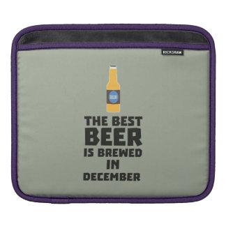 Best Beer is brewed in December Zfq4u iPad Sleeve