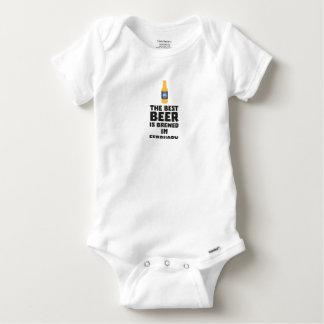 Best Beer is brewed in February Z4i8g Baby Onesie