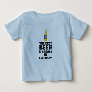 Best Beer is brewed in February Z4i8g Baby T-Shirt