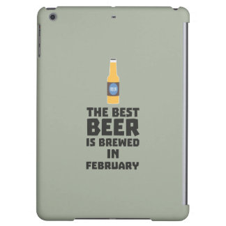 Best Beer is brewed in February Z4i8g Case For iPad Air