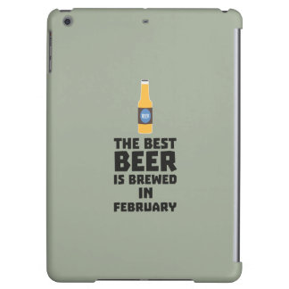 Best Beer is brewed in February Z4i8g Cover For iPad Air