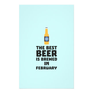 Best Beer is brewed in February Z4i8g Flyer