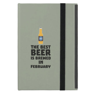 Best Beer is brewed in February Z4i8g iPad Mini Case